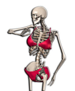 Skeleton In A Bikini